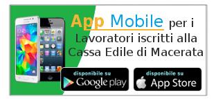 Scarica l'App Mobile per gli Operai iscritti alla Cassa Edile di Macerata...